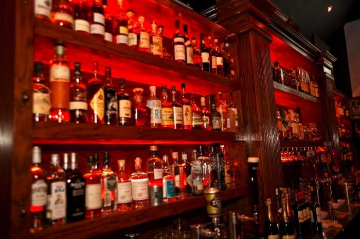 Just a bit of The Famous' bar stock. Photo courtesy of Luke Leonard.