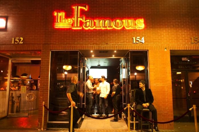 The Famous at night. Photo courtesy of Luke Leonard.