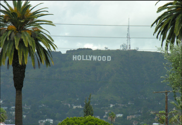 Hollywood Sign beckons many hopefuls.  Photo courtesy of Sean Russell.