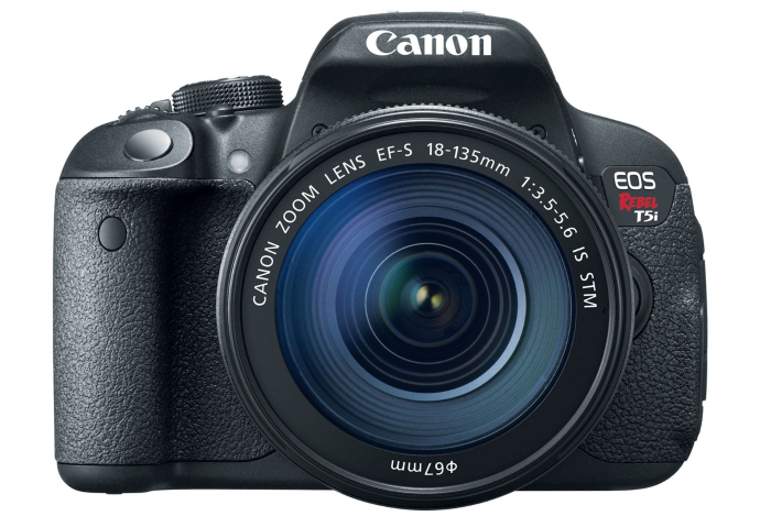 Canon T5i Digital SLR Rebel is a versatile camera for still and video. Photo courtesy of Canon.