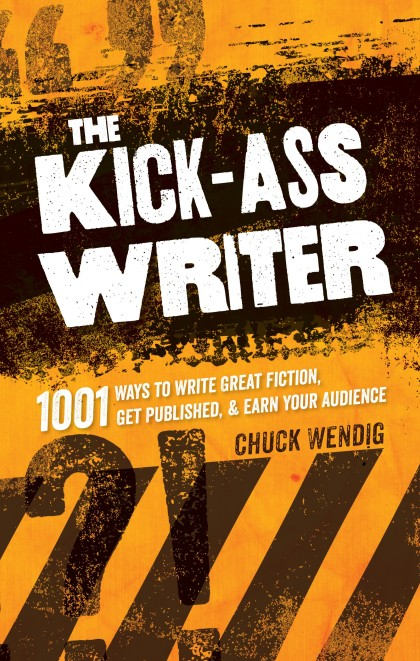 "Chuck Wendig shares his motivating yet witty writing advice in his book, ""The Kick-Ass Writer.""  Photo courtesy of Writer's Digest Books."