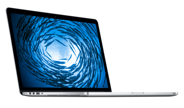 The MacBook Pro blows other laptops out of the water. Photo courtesy of Apple.