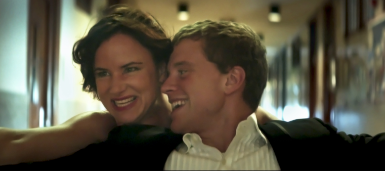 "Juliette Lewis and Jonny Weston star in ""Kelly & Cal."" Photo courtesy of IFC Films."