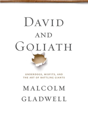 """Malcolm Gladwell's bestselling book """"David and Goliath"""" touches on some touchy subjects.  Photo courtesy of Penguin Books."""