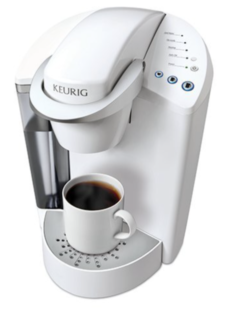 The Keurig brewing system comes in several colors. Photo courtesy of Keurig.