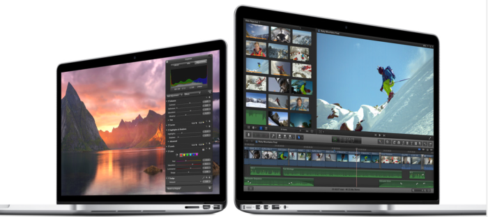 Writers love the performance of the MacBook Pro.  Photo courtesy of Apple, Inc.